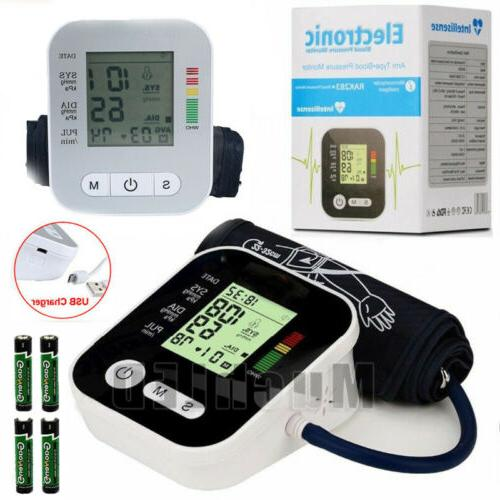 2x fully automatic upper arm blood pressure