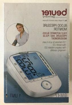 New: Beurer Upper Arm Blood Pressure Monitor, Multi-Users, F