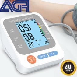 Portable Digital Arm Blood Pressure Monitor Automatic Voice