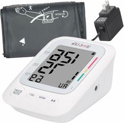 Upper Arm Blood Pressure Monitor with LCD Screen – Premium